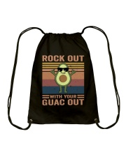 Rock Out With Your Guac Out Drawstring Bag thumbnail