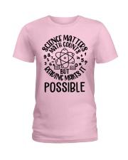 Reading Makes It Possible Ladies T-Shirt thumbnail