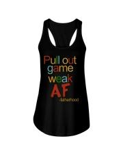 Pull Out Game Weak AF Ladies Flowy Tank thumbnail
