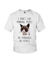 I Dont Like Morning People Youth T-Shirt thumbnail