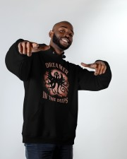 Dreamer In The Deeps Hooded Sweatshirt apparel-hooded-sweatshirt-lifestyle-front-12