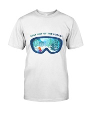 Stay Out Of The Forest Classic T-Shirt thumbnail