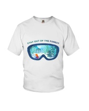 Stay Out Of The Forest Youth T-Shirt thumbnail