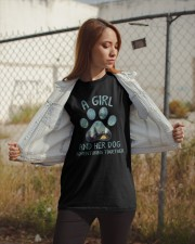 A Girl And Her Dog Classic T-Shirt apparel-classic-tshirt-lifestyle-07