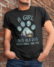 A Girl And Her Dog Classic T-Shirt apparel-classic-tshirt-lifestyle-26