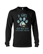 A Girl And Her Dog Long Sleeve Tee thumbnail