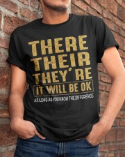 It Will Be Ok Classic T-Shirt apparel-classic-tshirt-lifestyle-26