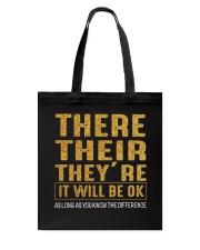 It Will Be Ok Tote Bag thumbnail