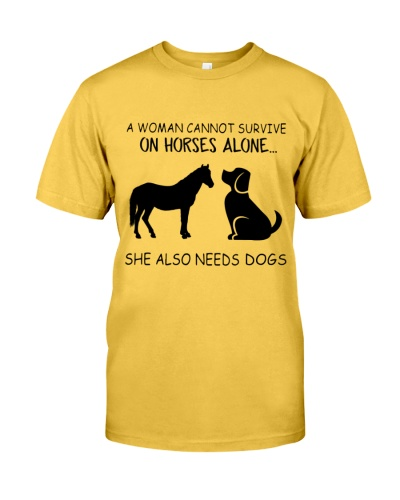 She Also Needs Dogs