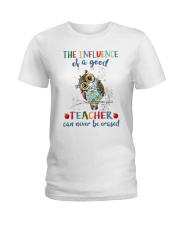 The Influence Of A Good Ladies T-Shirt thumbnail