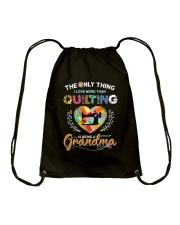 Being A Grandma Drawstring Bag thumbnail