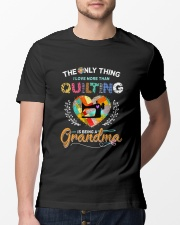 Being A Grandma Classic T-Shirt lifestyle-mens-crewneck-front-13