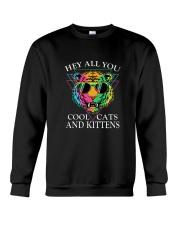 Hey All You Cool Cats Crewneck Sweatshirt thumbnail