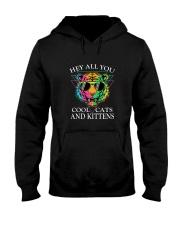 Hey All You Cool Cats Hooded Sweatshirt thumbnail