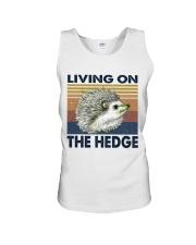 Living On The Hedge Unisex Tank thumbnail