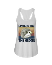 Living On The Hedge Ladies Flowy Tank thumbnail