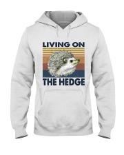 Living On The Hedge Hooded Sweatshirt thumbnail