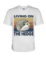 Living On The Hedge V-Neck T-Shirt thumbnail