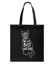 The Best Cat Dad Tote Bag thumbnail