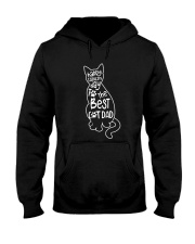 The Best Cat Dad Hooded Sweatshirt thumbnail