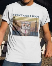 I Don't Give A Hoot Classic T-Shirt apparel-classic-tshirt-lifestyle-28