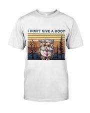 I Don't Give A Hoot Premium Fit Mens Tee thumbnail