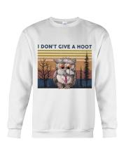 I Don't Give A Hoot Crewneck Sweatshirt thumbnail