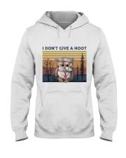 I Don't Give A Hoot Hooded Sweatshirt thumbnail