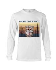 I Don't Give A Hoot Long Sleeve Tee thumbnail