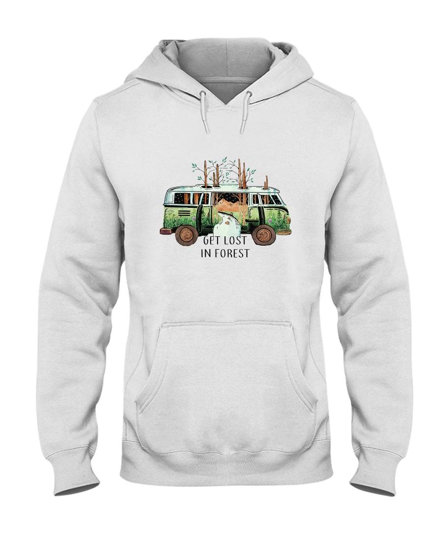 Get Lost In Forest Hooded Sweatshirt