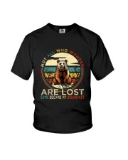 Not All Who Wander Are Lost Youth T-Shirt thumbnail