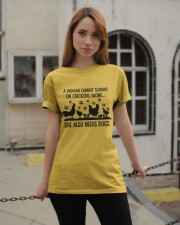 She Also Needs Dogs Classic T-Shirt apparel-classic-tshirt-lifestyle-19