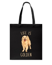 Life Is Golden Tote Bag thumbnail