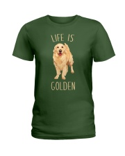 Life Is Golden Ladies T-Shirt tile