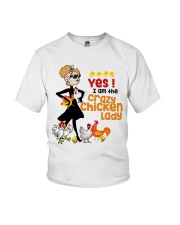 Crazy Chicken Lady Youth T-Shirt thumbnail
