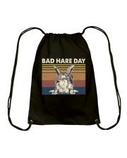 Bad Hare Day Drawstring Bag thumbnail