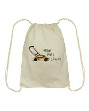 Mow That Lawn Drawstring Bag thumbnail