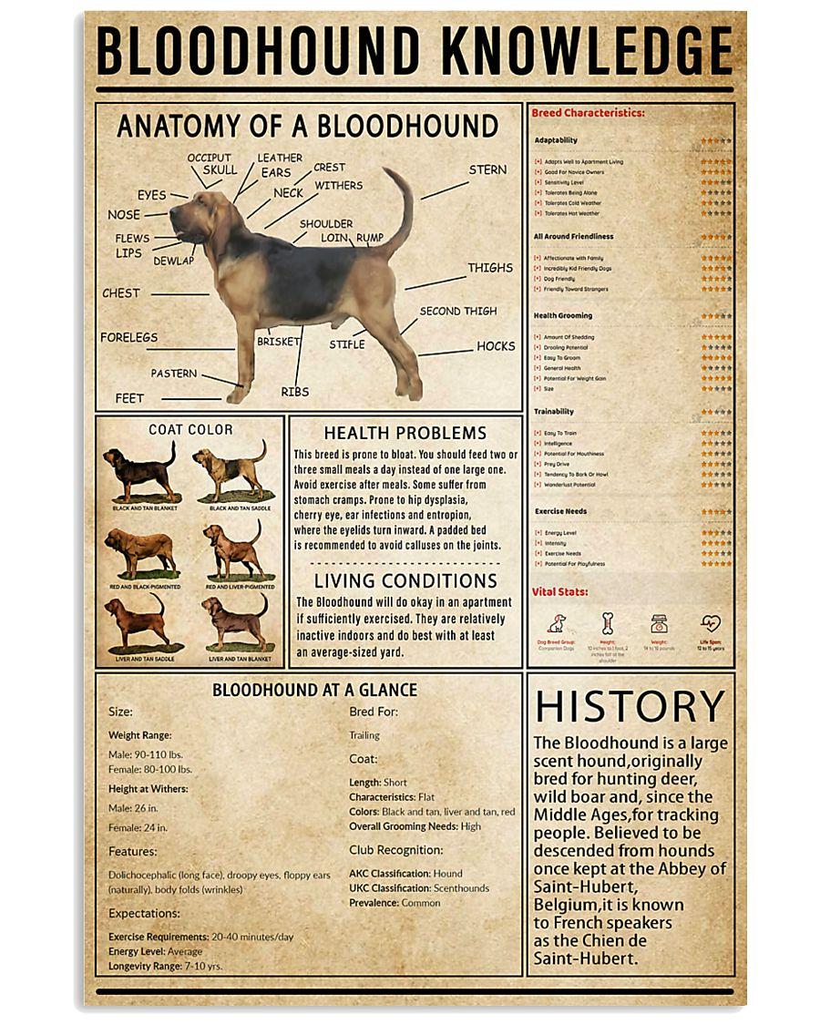 Bloodhound Knowledge 11x17 Poster