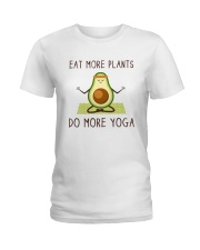 Do More Yoga Ladies T-Shirt thumbnail