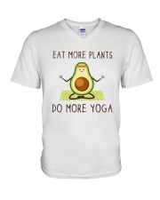 Do More Yoga V-Neck T-Shirt thumbnail