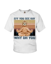 Eff You See Kay Youth T-Shirt thumbnail