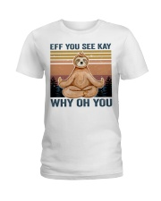 Eff You See Kay Ladies T-Shirt thumbnail