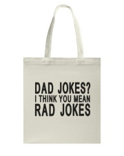 Dad Jokes Tote Bag thumbnail