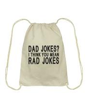 Dad Jokes Drawstring Bag thumbnail