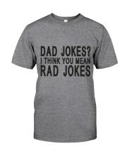 Dad Jokes Classic T-Shirt front