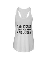 Dad Jokes Ladies Flowy Tank thumbnail