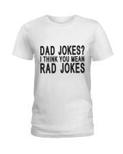 Dad Jokes Ladies T-Shirt thumbnail