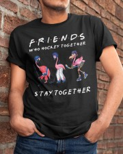 Friends Who Hockey Together Classic T-Shirt apparel-classic-tshirt-lifestyle-26