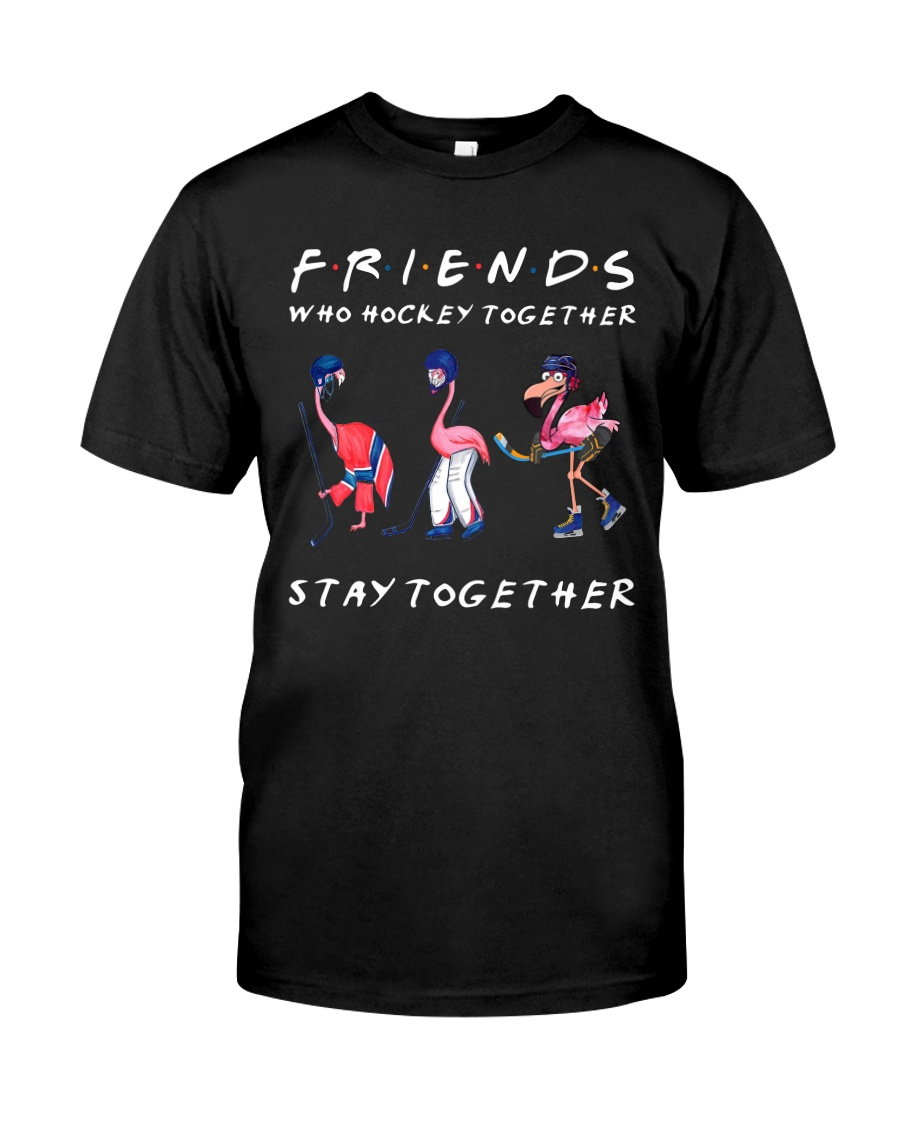Friends Who Hockey Together Classic T-Shirt