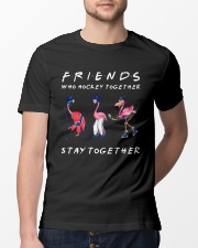 Friends Who Hockey Together Classic T-Shirt lifestyle-mens-crewneck-front-13